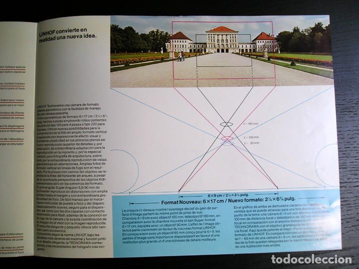 Cámara de fotos: Linhof Technorama 6 x 17 – folleto promocional - Foto 6 - 80411469