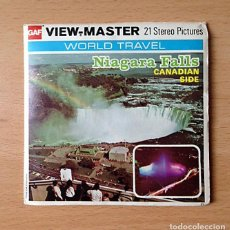 Cámara de fotos: VIEW-MASTER - NIAGARA FALLS WORLD TRAVEL - STEREO PICTURES - MADE IN USA - 1976. Lote 81045136
