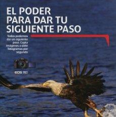 Cámara de fotos: CATÁLOGO CÁMARA CANON EOS 70D. Lote 81694360