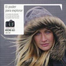 Cámara de fotos: CATÁLOGO CÁMARA CANON EOS 6D. Lote 81694712
