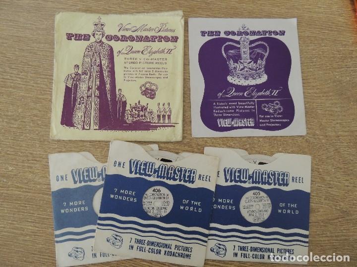 Cámara de fotos: visor meopta 1940 con discos coronacion isabel II - Foto 3 - 82103780