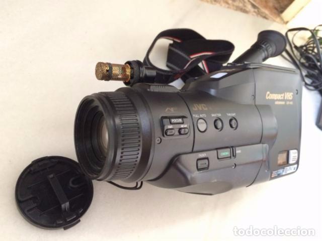 Cámara de fotos: Camara de video JVC VHS + cargador + baterías + maletín - Foto 2 - 99657724
