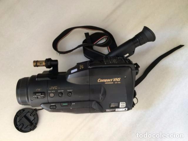 Cámara de fotos: Camara de video JVC VHS + cargador + baterías + maletín - Foto 3 - 99657724