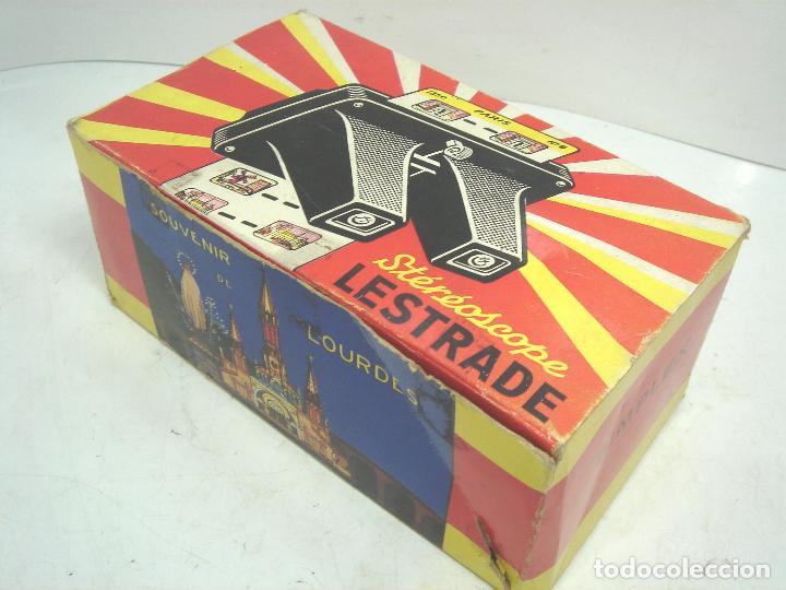 Cámara de fotos: VISOR ESTEREOSCOPICO 3D - LESTRADE SIMPLEX + CATALOGO + 2 LAMINAS LOURDES - MADE IN FRANCE 1967 X - Foto 2 - 83117480