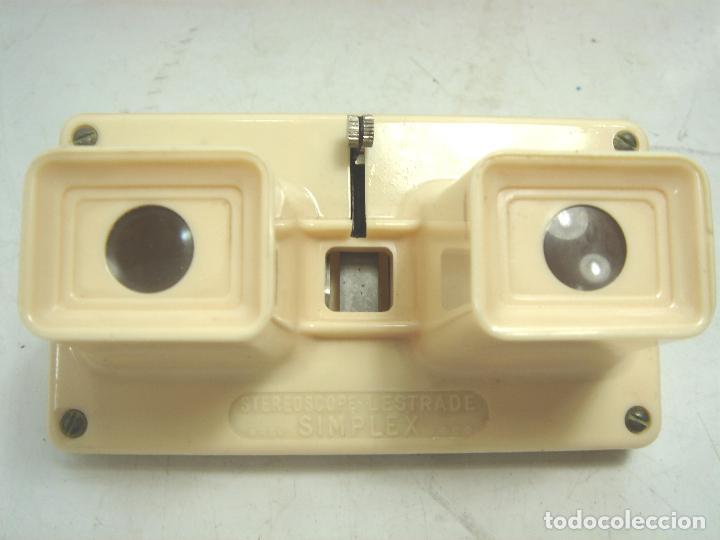 Cámara de fotos: VISOR ESTEREOSCOPICO 3D - LESTRADE SIMPLEX + CATALOGO + 2 LAMINAS LOURDES - MADE IN FRANCE 1967 X - Foto 6 - 83117480