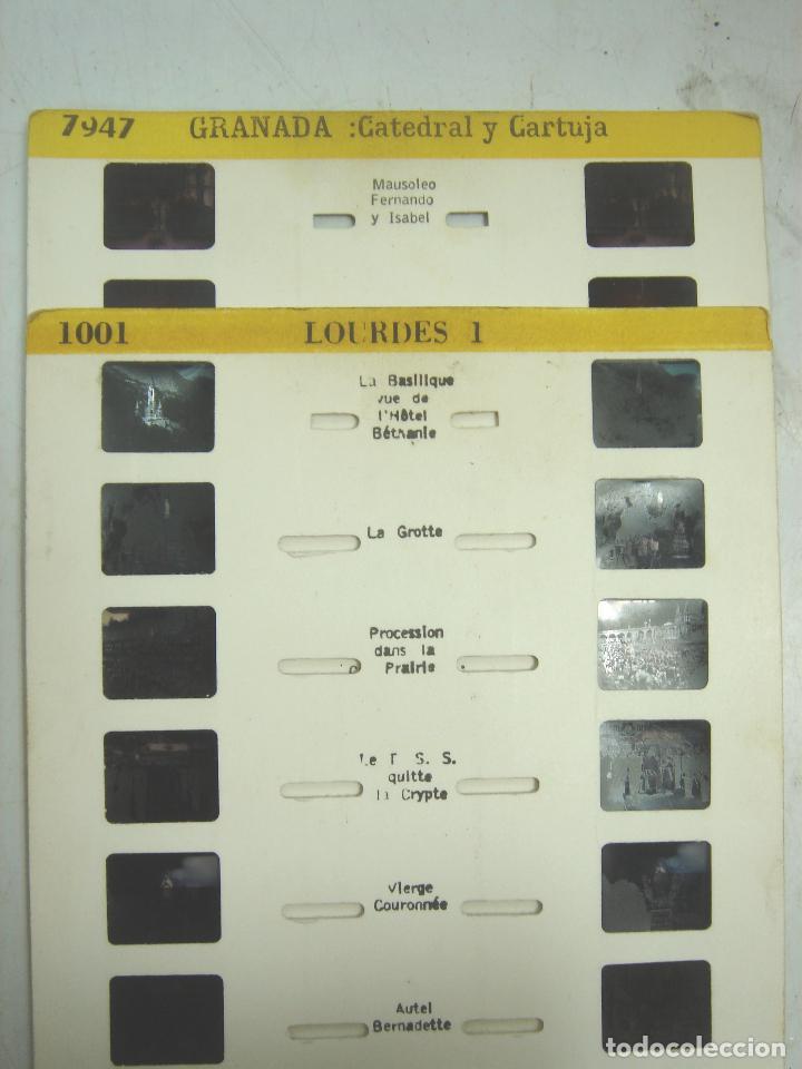 Cámara de fotos: VISOR ESTEREOSCOPICO 3D - LESTRADE SIMPLEX + CATALOGO + 2 LAMINAS LOURDES - MADE IN FRANCE 1967 X - Foto 8 - 83117480