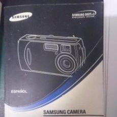 Cámara de fotos: MANUAL DE USUARIO - SAMSUNG CAMARA DIGITAL DIGIMAX 401. Lote 85462352
