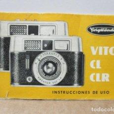 Cámara de fotos: VOIGLANDER MANUAL. Lote 85949016