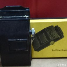 Cámara de fotos: ROLLFILM KASSETE RADA, FORMATO 6 X 6 UNID. 4 X 6 . MADE IN GERMANY. Lote 86270312