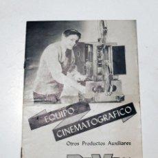Cámara de fotos: CATÁLOGO PUBLICITARIO EQUIPO CINEMATOGRAFICO DEVRY 16 PÁGINAS AÑOS 60. Lote 86764228