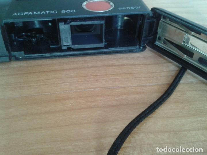 Cámara de fotos: Cámara fotográfica -- AGFA -- Agfamatic 508 Sensor pocket -- Años 80 -- - Foto 5 - 86996492