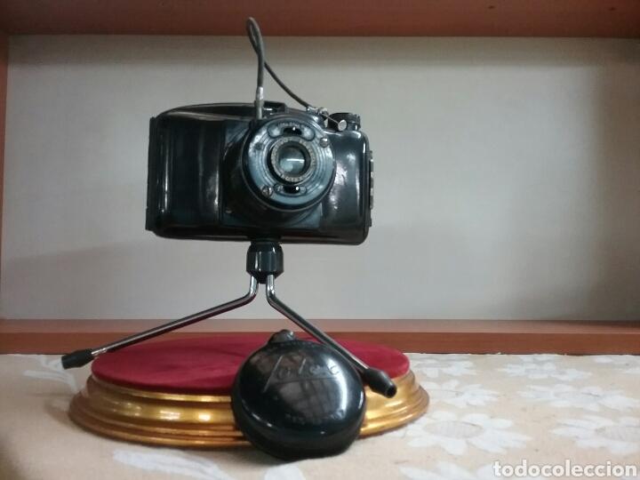 Cámara de fotos: CAMARA FOTEX.. FABRICACIÓN ESPAÑOLA. Objetivo enroscable, trípode, disparador.VER FOTOS Y DESCRIPCIÓ - Foto 6 - 144740500