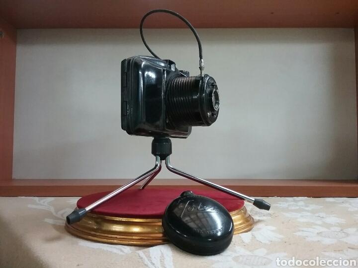 Cámara de fotos: CAMARA FOTEX.. FABRICACIÓN ESPAÑOLA. Objetivo enroscable, trípode, disparador.VER FOTOS Y DESCRIPCIÓ - Foto 5 - 144740500