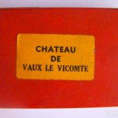 Cámara de fotos: VISOR CÁMARA CON 15 DIAPOSITIVAS DEL CASTILLO DEL VIZCONDE DE VAUX, FRANCIA. PLÁSTICO. AÑOS 60.. Lote 87485648