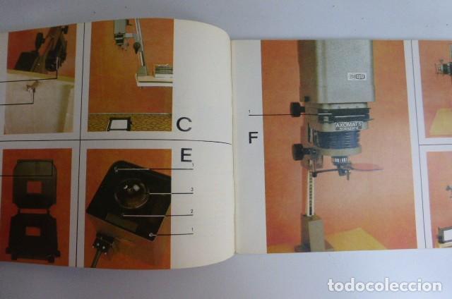Cámara de fotos: Instrucciones originales Ampliadora Axomat 5 Standard..checoslovaquia...años 80-90 - Foto 3 - 87994044