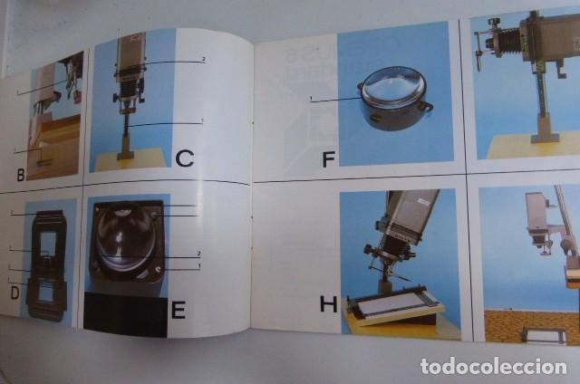 Cámara de fotos: Instrucciones originales Ampliadora Opemus 6...años 90. - Foto 3 - 87994496