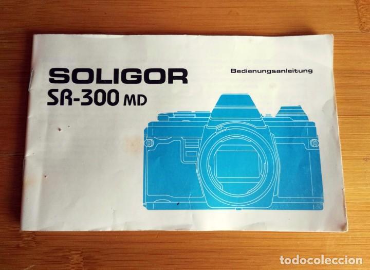 BEDIENUNGSANLEITUNG MANUAL CÁMARA SOLIGOR SR-300MD (Cámaras Fotográficas - Catálogos, Manuales y Publicidad)