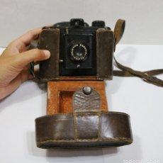 Cámara de fotos: ANTIGUA CÁMARA DE FOTOS. CAPTA. OBJETIVO ESPECIAL. CON FUNDA DE CUERO.. Lote 89682984