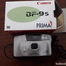 Cámara de fotos: CÁMARA FOTOS CANON BF-9S PRIMA. Lote 90258888