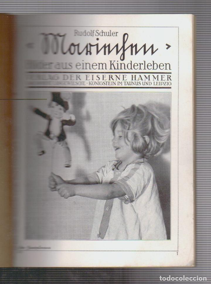 Cámara de fotos: Rudolf Schuler.Mariechen. Bilder aus einem Kinderleben.Libro de fotografias.Texto en alemán.Año 1931 - Foto 2 - 90661305