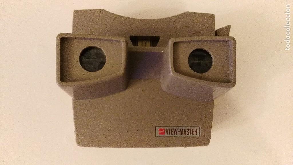ANTIGUO VISOR ESTEREOSCOPICO GAF VIEW MASTER (Cámaras Fotográficas - Visores Estereoscópicos)