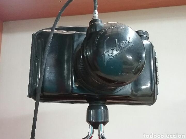 Cámara de fotos: CAMARA FOTEX.. FABRICACIÓN ESPAÑOLA. Objetivo enroscable, trípode, disparador.VER FOTOS Y DESCRIPCIÓ - Foto 4 - 144740500
