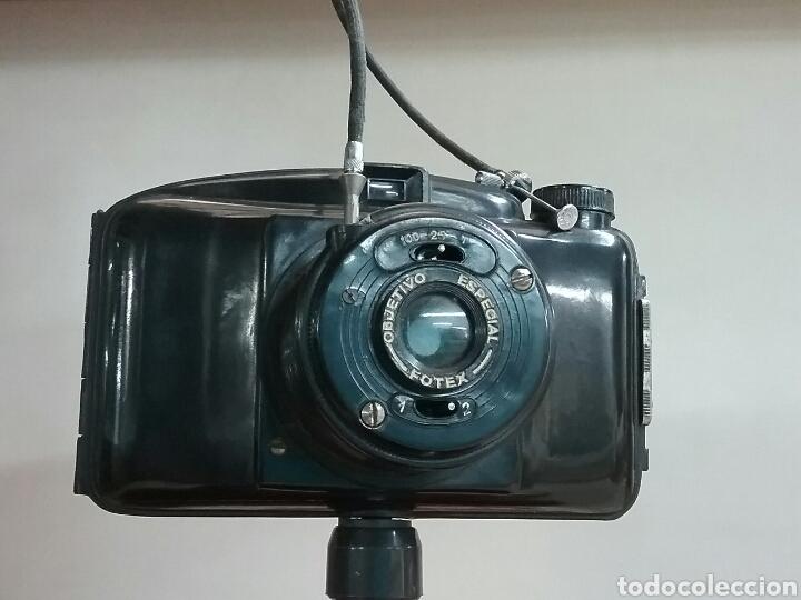 Cámara de fotos: CAMARA FOTEX.. FABRICACIÓN ESPAÑOLA. Objetivo enroscable, trípode, disparador.VER FOTOS Y DESCRIPCIÓ - Foto 2 - 144740500