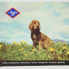 Cámara de fotos: FOLLETO PUBLICITARIO DE FOTOGRAFÍA - AGFA. CÁMARAS DE FOTOS, PROYECTORES, FLASHES... - AÑOS 60-70 . Lote 91362325