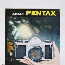 Cámara de fotos: FOLLETO PUBLICITARIO DE FOTOGRAFÍA - CÁMARA DE FOTOS PENTAX ASAHI - AÑOS 60-70. Lote 91367290