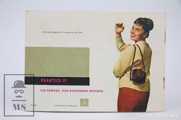 Cámara de fotos: Folleto Publicitario de Fotografía - Cámara de Fotos Praktica IV - IV B - Años 60-70 - Foto 5 - 91367635