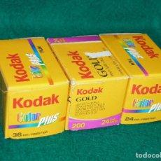 Photo camera - KODAK 3 CARRETES .GASTOS DE ENVIO 5€ - 91403770