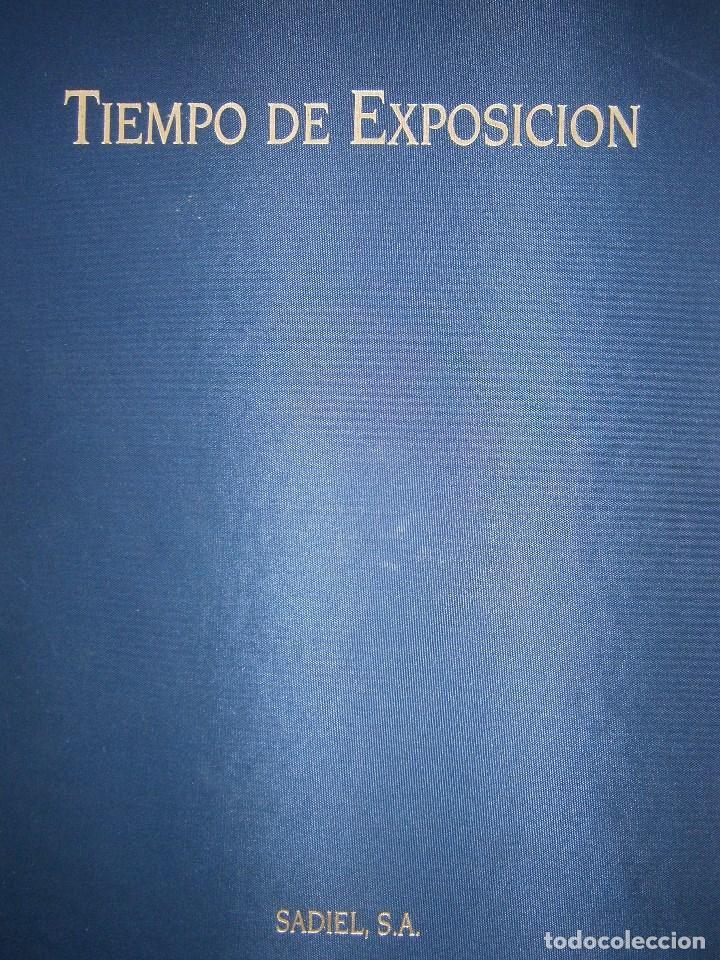 TIEMPO DE EXPOSICION EXPO 92 SEVILLA ANNA ELIAS SADIEL 1 EDICION 1993 (Cámaras Fotográficas - Catálogos, Manuales y Publicidad)