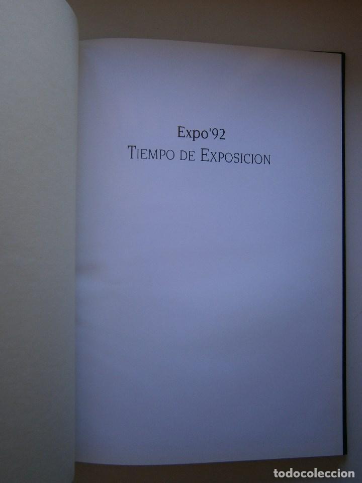 Cámara de fotos: TIEMPO DE EXPOSICION EXPO 92 SEVILLA Anna Elias Sadiel 1 edicion 1993 - Foto 7 - 91665395