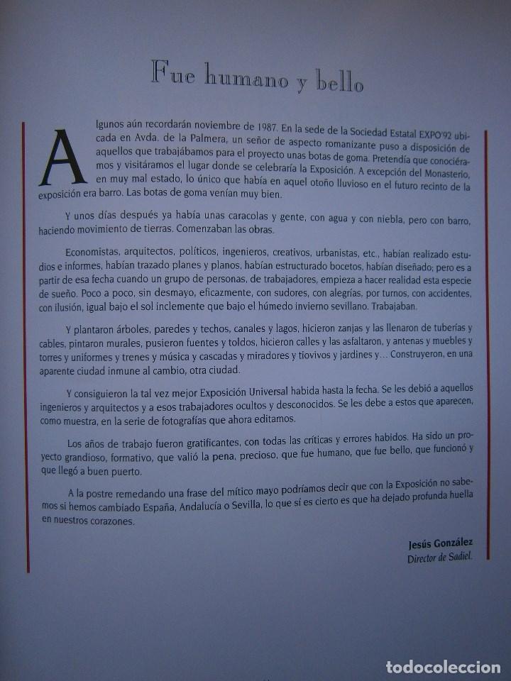 Cámara de fotos: TIEMPO DE EXPOSICION EXPO 92 SEVILLA Anna Elias Sadiel 1 edicion 1993 - Foto 14 - 91665395
