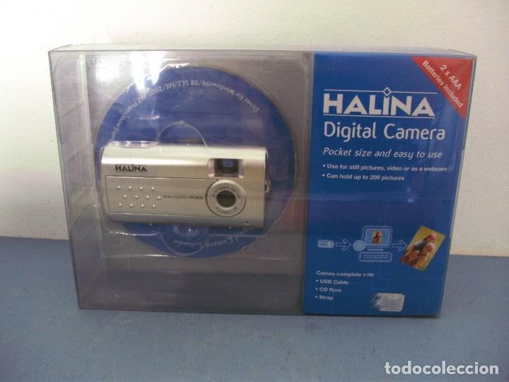 SENCILLA CAMARA DIGITAL , HALINA (WINDOWS 98/2000/XP) EN SU BLISTER ORIGINAL (Cámaras Fotográficas - Otras)