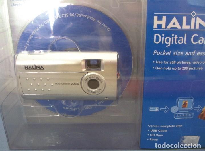 Cámara de fotos: sencilla camara digital , halina (windows 98/2000/xp) en su blister original - Foto 2 - 92731025