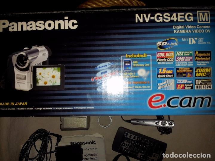 Cámara de fotos: Cámara vídeo digital Panasonic NV-GS4 , SD,+ accesorios - Foto 2 - 93331765