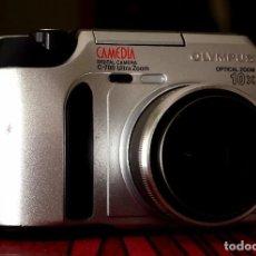 Cámara de fotos - ANTIGUA CÁMARA DIGITAL OLYMPUS CAMEDIA C700 ULTRA ZOOM + MEMORY CARD 128 MB, IDEAL COLECCIÓN - 93376365