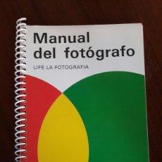 Cámara de fotos: MANUAL DEL FOTOGRAFO. Lote 95868556
