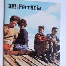 Cámara de fotos: 3M FERRANIA / FOLLETO PUBLICIDAD PELICULAS PARA FOTOGRAFIAS. Lote 95948163