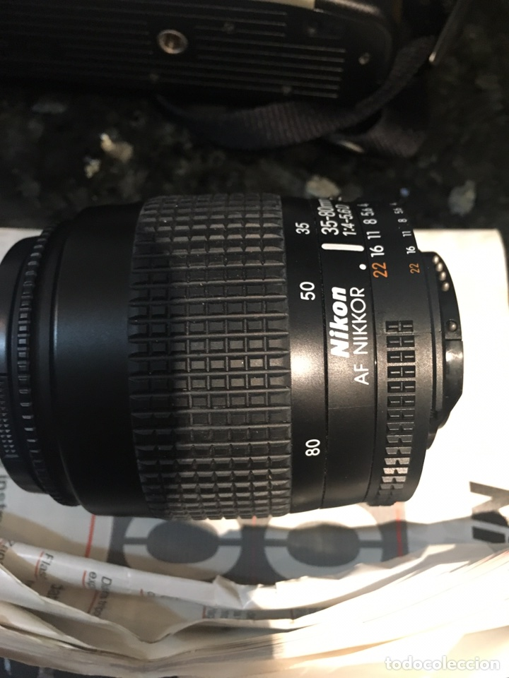 Cámara de fotos: Camara con objetivo NIKON F60 + OBJETIVO AF NIKKOR 35 80 i - Foto 10 - 96037726