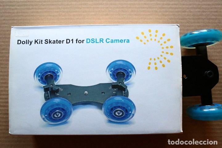 Cámara de fotos: skater para video - plataforma deslizante - Foto 5 - 97552359