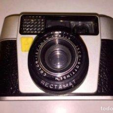 Cámara de fotos: CÁMARA DE FOTOS VINTAGE SCHMIDT CON SU FUNDA. Lote 98030959
