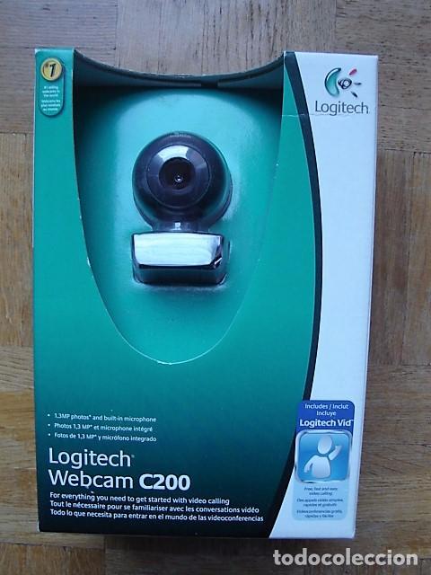 LOGITECH C200 WEBCAM TELECHARGER PILOTE