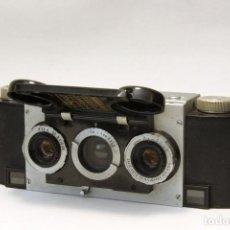 Cámara de fotos: STEREO REALIST DAVID WHITE.PRIMER MODELO. MILWAULKEE. USA 1947. Lote 103838584