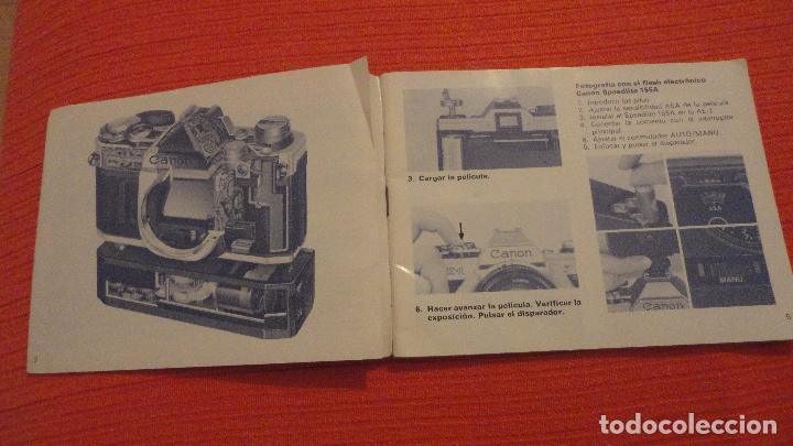 Cámara de fotos: ANTIGUO MANUAL DE INSTRUCCIONES.CAMARA CANON AE-1.EN ESPAÑOL.1979 - Foto 2 - 99903515