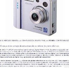 Cámara de fotos: CÁMARA DIGITAL FUJI FINEPIX F-410-PRIMERA CON TECNOLOGIA SUPER CCD HR.. Lote 100195383