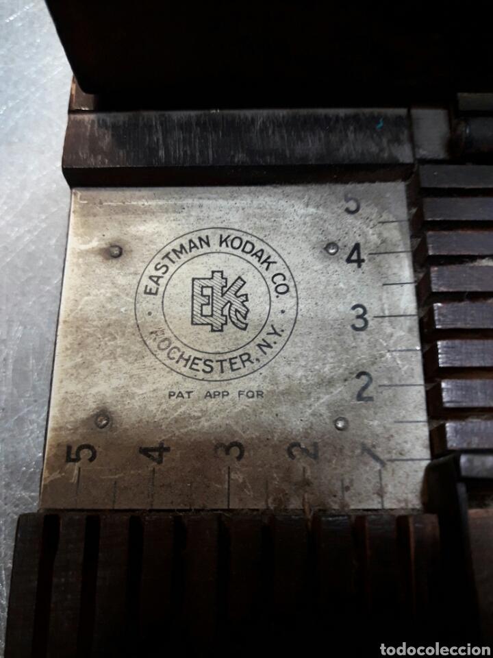 Cámara de fotos: Marginador antiguo grande Kodak 1924 sellado - Foto 2 - 100454643