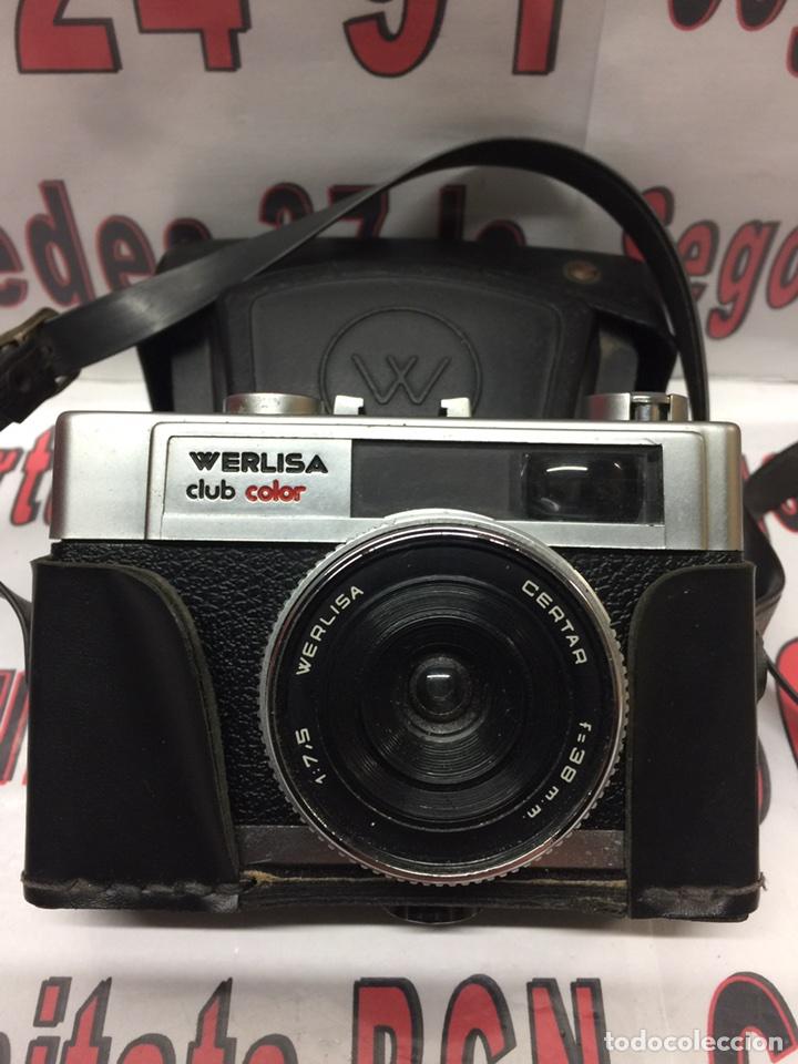 CAMARA WERLISA CLUB COLOR VINTAGE (Cámaras Fotográficas - Otras)