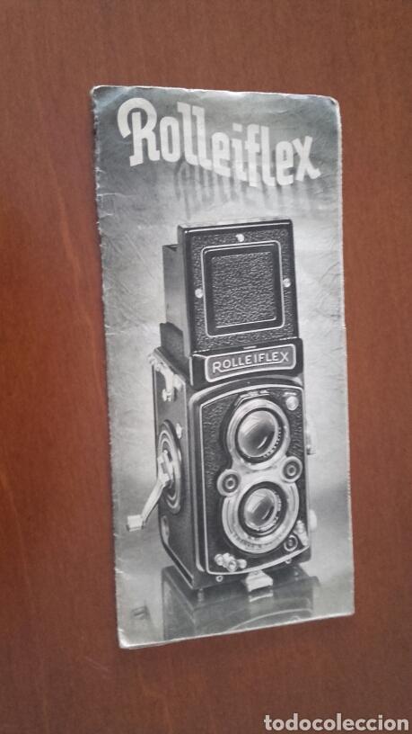 ROLLEIFLEX. ANTIGUO CATÁLOGO ORIGINAL. (Cámaras Fotográficas - Catálogos, Manuales y Publicidad)